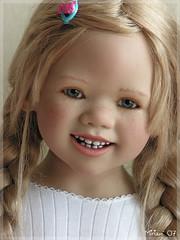Himstedts blonde (MiriamBJDolls) Tags: doll vinyl limitededition 2007 annettehimstedt clubdoll lillemore himstedtkinder himstedtsblonde