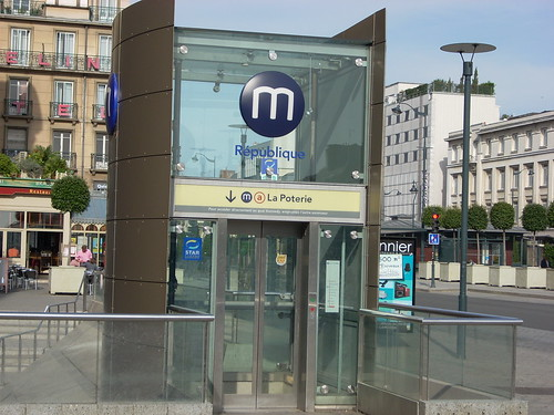 A metro stop in Rennes. Photo by Paul Erlichman.