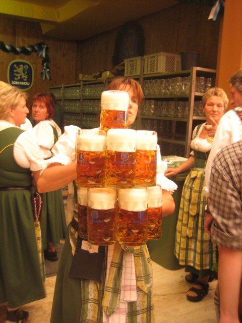 Oktoberfest Fiesta de la cerveza alemana