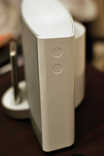 SoundDock Portable White Volume Control