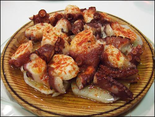 Rias de Galicia (Barcelona, Spain) - Octopus Galician Style