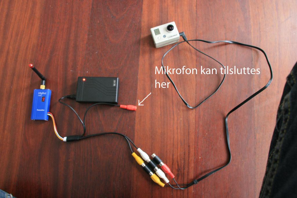 Sender + Batteri