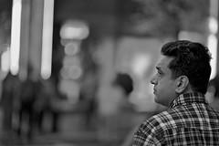 Crosswalk No. 15 (mgarbowski) Tags: nyc blackandwhite newyork night manhattan streetphotography 85mm crosswalk candids distillery blackdiamond streetcandids urbanblackandwhite nycfifthavenue d700 flickraward afnikkor85mmf14dif bwartaward