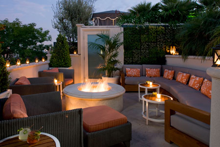 City Garden Design On Rooftop Bars And Restaurants In Los Angeles Luxury Travel Advisor