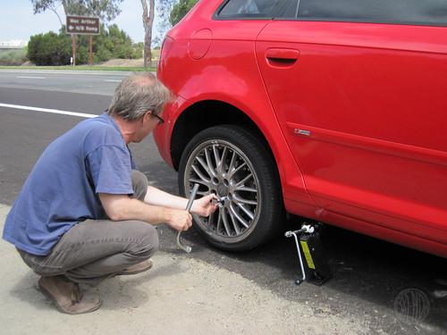 Days Secret Agent Josephine - Audi car tires