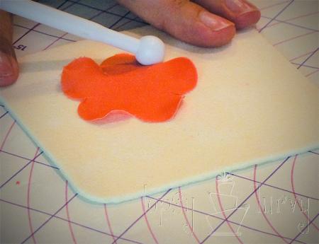 fondant rose tutorial petals ruffling