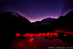 Hot Rocks (James Neeley) Tags: california nightphotography lightpainting highiso milkyway convictlake mywinners jamesneeley