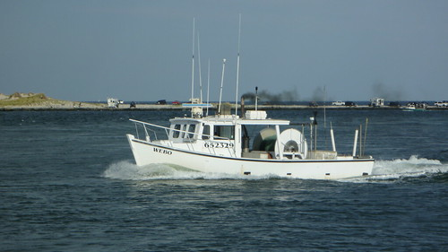 Fishing Boat at Jersey Shore