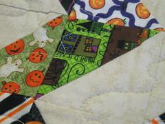 halloween runner detail