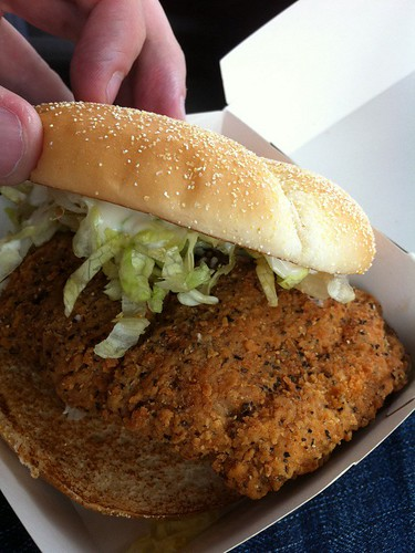 Black Pepper Spicy Chicken McDeluxe