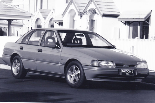 1992 Ford EB Falcon XR6 - Tickford Press Photo by aussiefordadverts