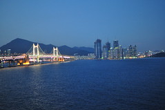 Views of Busan from Idigae