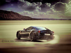 Ferrari 599 GTO | 1 of 599 (Tareq Abuhajjaj | Photography & Design) Tags: show roof light red sky italy moon black cars car sport speed dark photography nice nikon flickr italia power shot top side wheels gray hard engine fast gear f1 ferrari saudi arabia gto manual fiber rims riyadh hdr  drift ggg 2010 v12 ksa  070 599 tareq 2011           d700   segma       tareqdesigncom tareqmoon tareqdesign  abuhajjaj