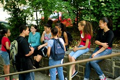 kids hanging out in Bennett Park (Susan NYC) Tags: park street nyc playground kids children manhattan parks teenagers washingtonheights bennettpark nycparks l1018284jpg