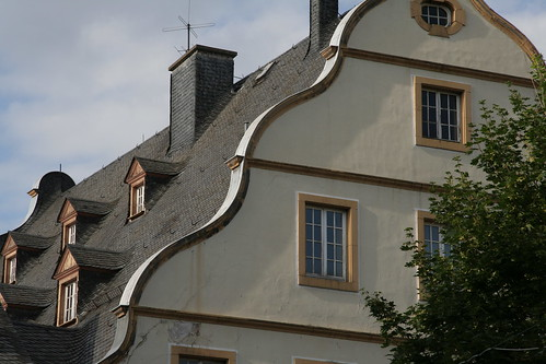Roof in Koblenz old town
