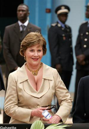 SENEGAL LAURA BUSH
