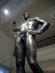 Monumental Hellenistic Statue of a Man (ggnyc) Tags: nyc newyorkcity statue bronze greek roman met metropolitanmuseumofart hellenistic romangeneral commemorativestatue greekandromangalleries