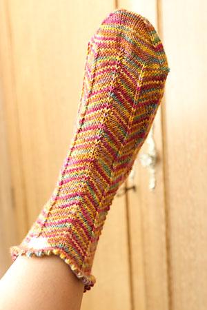 Jaywalker sock one