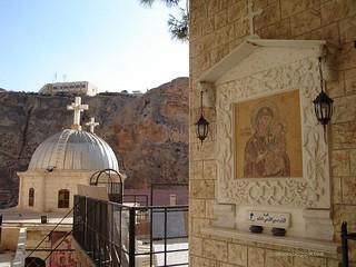 Maalula. St. Teqla Monastery