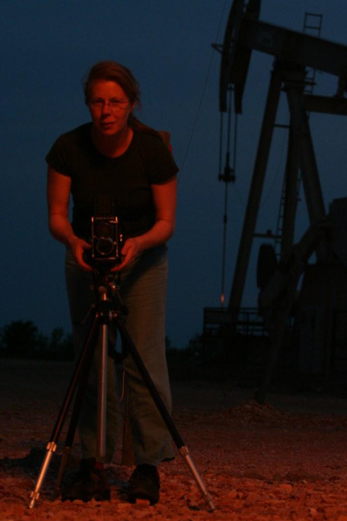 Prairie Oil Fire Photographer