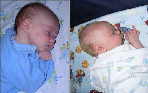 2 month boys comparison