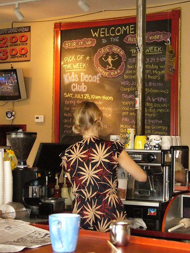 Laurel the Irie Bean Barista