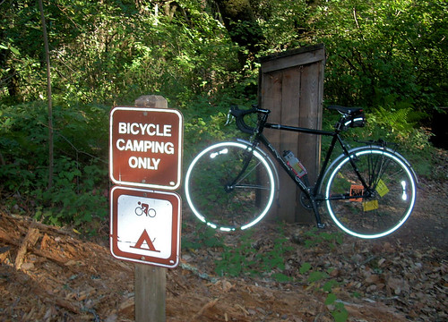 Bicycle Camping Only