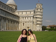Pisa, Elizabeth and Ruth (Keith Mac Uidhir  (Thanks for 3m views)) Tags: world italien summer italy holiday tower heritage church field italia cathedral pisa dreams campo miracles leaning italie itlia itali piza miracoli  italya  kulesi pise wochy   itlie  olaszorszg