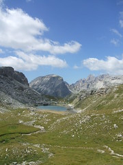 Lago verso il Puez (pierotaglia) Tags: montagna vacanza valgardena