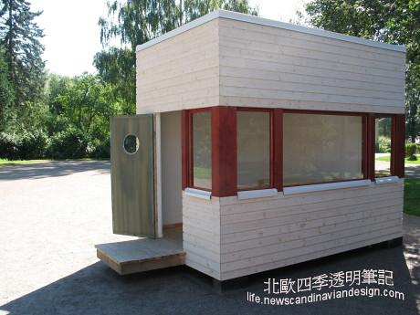 6以芬蘭1930年代建築型式為靈感的遊戲木屋模型small copy