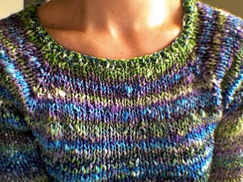 FREE PATTERN: Spring Forward Fall Back Raglan   The Thrifty Knitter
