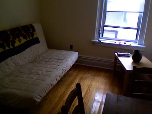 New York Living Room, early September