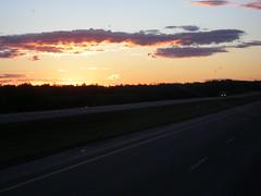 Good morning sunshine! (jimbob_malone) Tags: alberta 2007 highway16 greyhoundbus