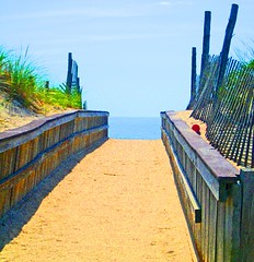 path to the ocean (Sheila in Moonducks) Tags: nj lbi firsttheearth ljomi thatsbostin theperfectphotographer happinessconservancy scenicsnotjustlandscapes