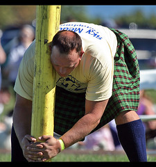 a man and his caber