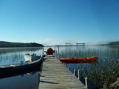 morning mist (Whitey's Pics) Tags: camping water dock harcourt trailor elephantlake sandyacres diamondclassphotographer flickrdiamond harcourtontario worldwidelandscapes panoramafotogrfico whiteyspics flickrsportal onlythebestofflickr
