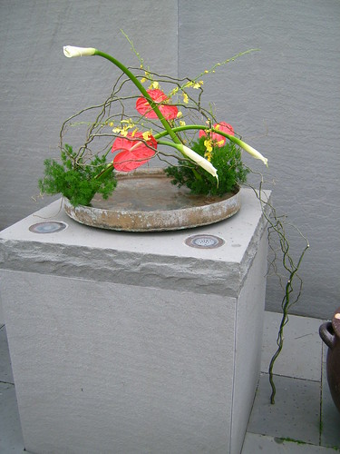 National Arboretum Sogetsu Ikebana Exhibit