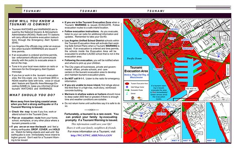Tsunami Brochure - (RED Santa Monica - Venice)