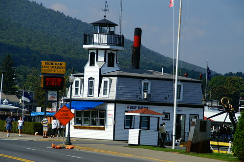 LAKE GEORGE STEAMBOAT COMPANY by jimduell.