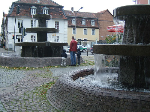 Saarbruken Fountains