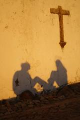 Hopes (the bbp) Tags: sunset shadow selfportrait portugal bravo tramonto cross ombra breathtaking croce marvao thebbp aplusphoto diamondclassphotographer flickrdiamond excapture