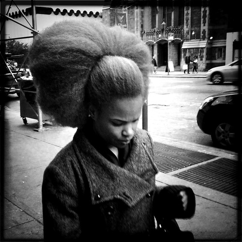 """The Girl with the Most Amazing Hair in NYC"""