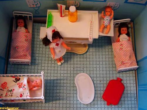 maternity ward - sala de maternidad