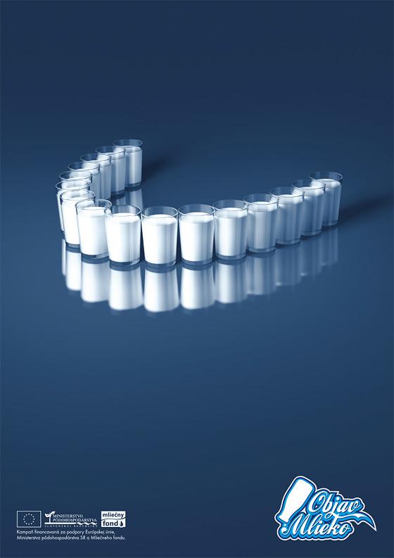 Campaña publicitaria para tomar leche