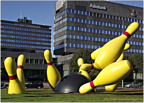 Bowling Pins in Eindhoven