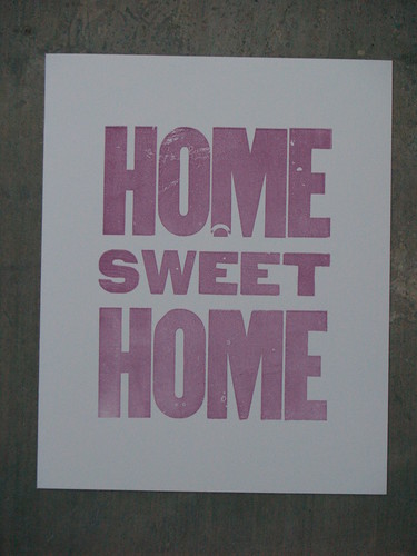 Lot 9 Press - Home sweet home