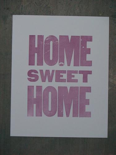 Lot 9 Press - Home sweet home