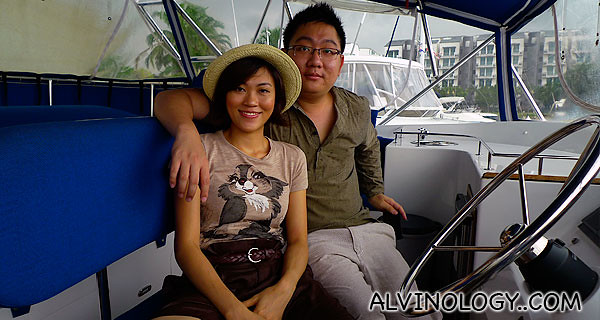 The real skippers - Alvin and Rachel?