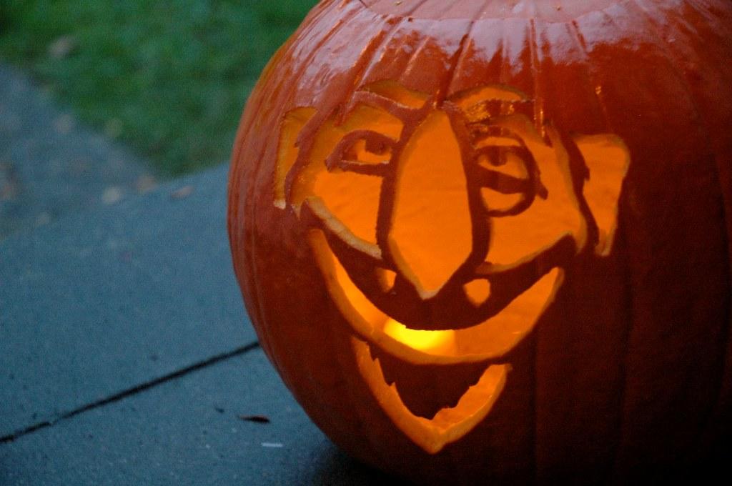 Sesame Street Pumpkin Stencil Download