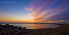 It's a brand new day (Diana Co-Quan Photography) Tags: morning beach clouds sunrise md sandypoint